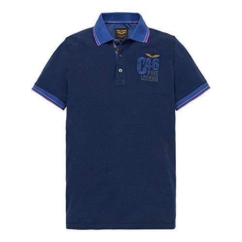 PME Legend Herren Poloshirt Blau L