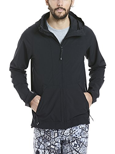 Bench Herren Lightweight Softshell Jacket Softshelljacke, Black, M
