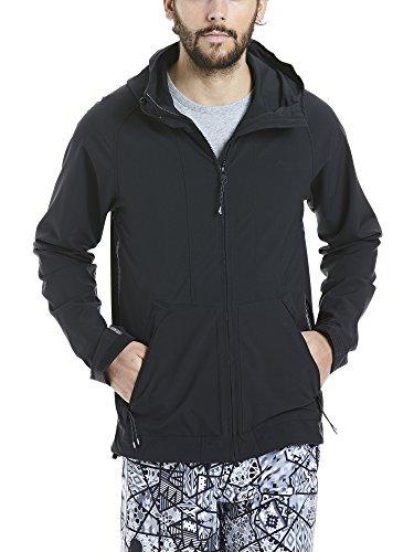 Bench Herren Lightweight Softshell Jacket Softshelljacke, Black, M