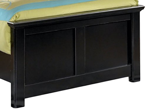 Read About Ashley Furniture Signature Design – Maribel Twin Panel Footboard – Component Piece – Black