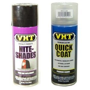 VHT Nite-shades and VHT Quick Coat Clear Coat Kit SP999-SP515