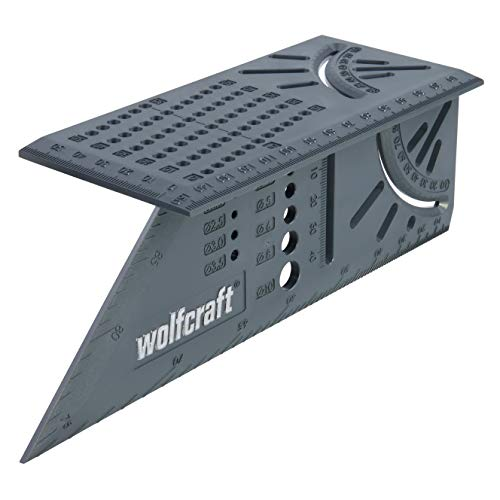 Wolfcraft 5208000 Mitre Angle, Gray, 150 x 275 x 66 mm