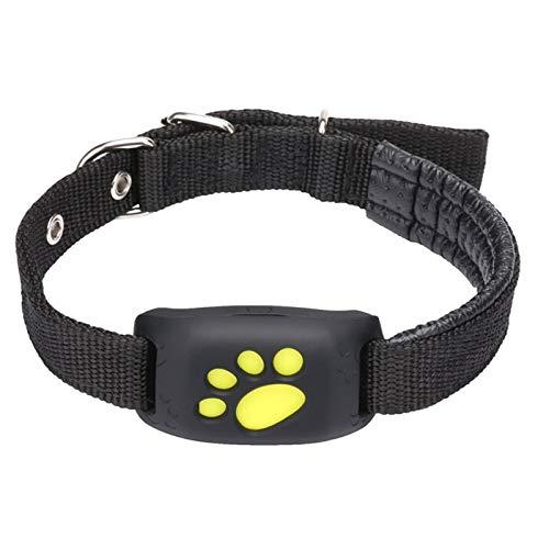Nulo GPS-Tracker für Hunde und Hunde, Aktivitätsmonitor mit unbegrenzter Reichweite, wasserdicht, Live Tracking (schwarz)