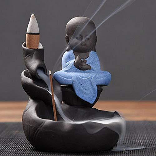 Simanli Zen Lot de 10 bâtonnets d'encens pour encens Incense Burner