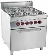 Cocina de gas con 4quemadores y horno
