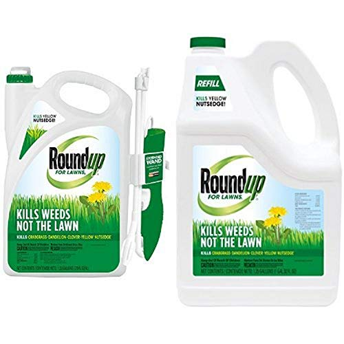 Roundup for Lawns Wand + Refill Combo Pack
