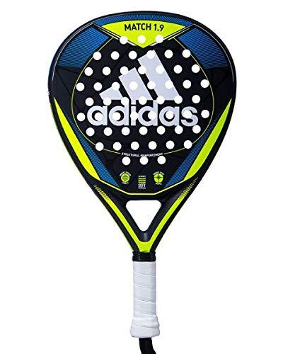 Adidas Match 1.9 - Pala, Adultos Unisex, Amarillo/Azul, 375
