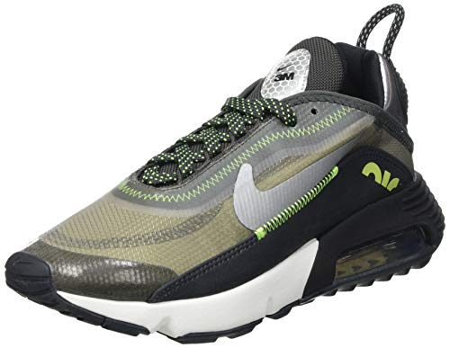 Nike Air Max 2090 SE 3M, Scarpe da Corsa Donna, Anthracite/Volt-Black-Newsprint, 42.5 EU