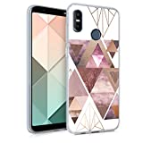 kwmobile Case Compatible with HTC U12 Life - Crystal TPU