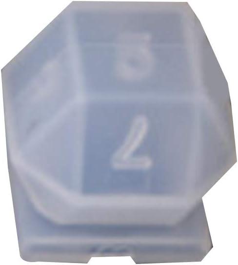 DIY Crystal 5% OFF Epoxy sale Mold Dice Multi-spec Fillet Digital Game Shape