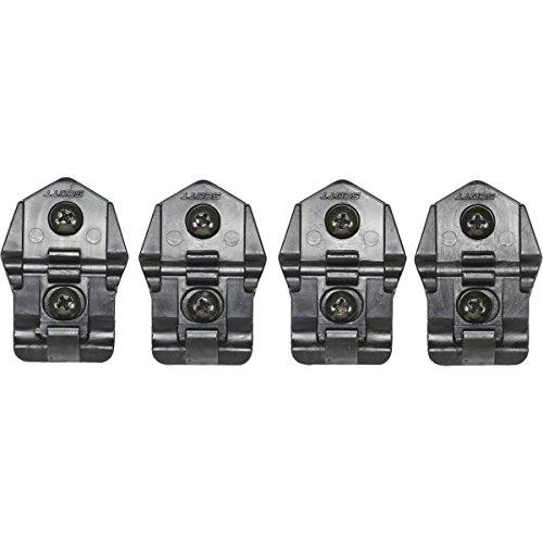 Scott MX Boot Strap & Plastic Buckle Set Austauschschnalle für 250 Stiefel schwarz