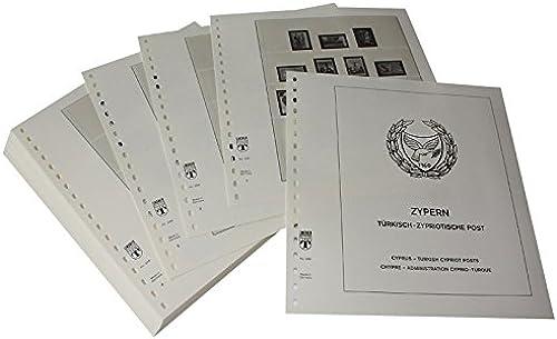 LINDNER Das Original Zypern Türkisch-Zypriotische Post - Vordruckalbum Jahrgang 1974-1996