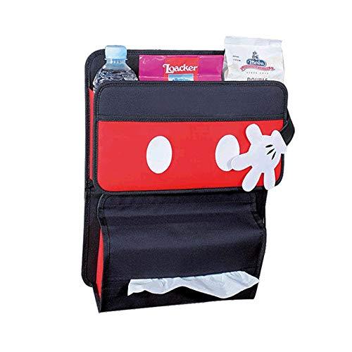 Sac de rangement arrière pour siège de voiture Grand sac de rangement multifonctionnel pour voiture Grand sac de rangement à suspendre sac suspendu dans la voiture