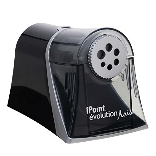 Westcott Electric iPoint Evolution Axis Heavy Duty Pencil Sharpener,...
