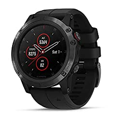 Garmin Fenix 5X Plus, Ultimate Multisport GPS durable Smartwatch - The best alternative to the most rugged smartwatch