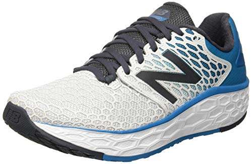 New Balance Fresh Foam Vongo v3, Zapatillas de Running para Hombre, Blanco (Light Aluminum/Orca/Deep Ozone Blue Dm3), 40.5 EU