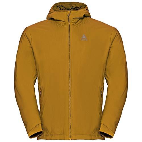 Odlo Insulated FLI S-Thermic Jacket Homme, Marron doré, XXL
