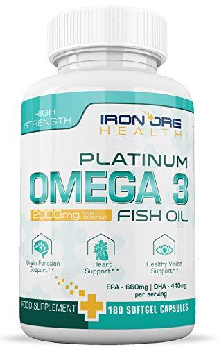 Omega 3 triple potencia con Aceite de...
