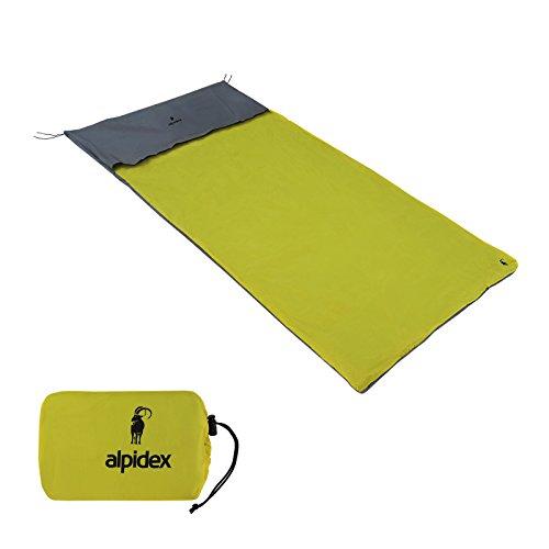 ALPIDEX wasserdichter Biwacksack BIWILD in verschiedenen Größen für 1 oder 2 Personen, Größe:210 x 140 cm