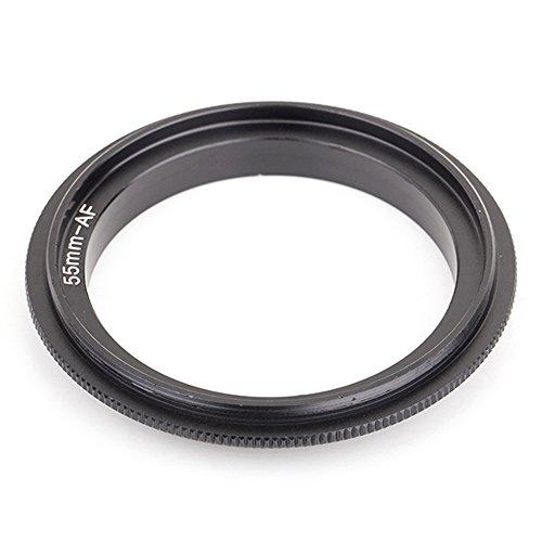 Pixco 55mm Lente de la cámara Anillo Reverso Macro del Adaptador para...