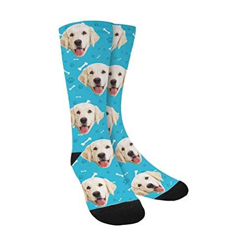 D-Story Custom Dog Socks for Women and Men 15.35 inch