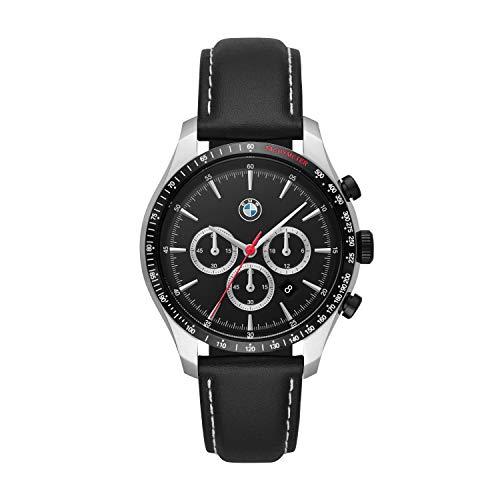 BMW Herren Chronograph Quarz Uhr with Leder Armband BMW7001