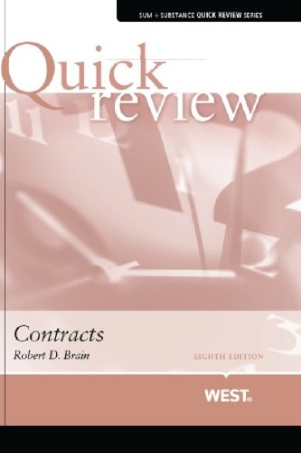 Sum and Substance Quick Review on Contracts (Quick Reviews)