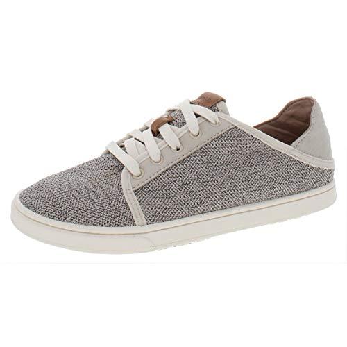 OLUKAI Women's Pehuea Li Shoes, Tapa/Tapa, 8 M US
