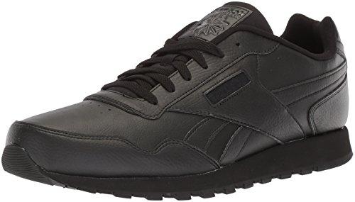 Reebok Womens Classic Harman Run Sneaker, black/black, 8.5 M US