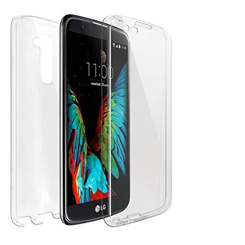 United Case Funda Protectora De Teléfono Celular para LG K10   Claro Funda De Silicona TPU