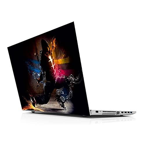Pegatina Master Human Universal Portátil Piel para 13 14 15 15.6 16 17 19'Incybook Portátil para M-AC, D-ELL, AC-ER, H-P, TO-Shiba, AS-US, len-OVO Autoadhesivo
