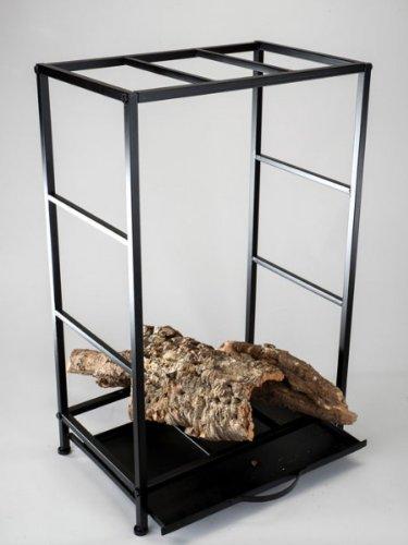 Formano Halter für Brennholz, 80 cm, rusty