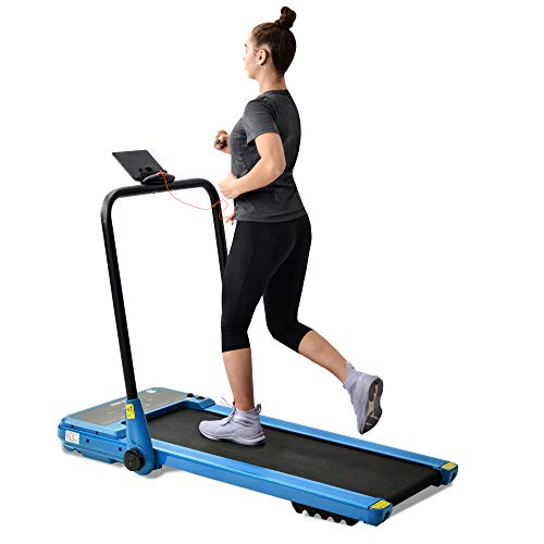erax Electrical Motorized Treadmill Folding Treadmill Portable Walking Running Machine Bluetooth connect 1.5HP Powerful Motor 12km/h