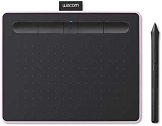 """Wacom Intuos Wireless Graphic Tablet, with 2 Free Creative Software downloads, 7.9""""x6.3"""",Berry,CTL-4100WL/P0-CX"""