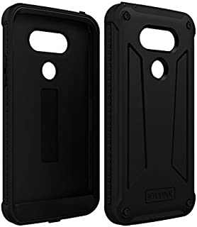 LG G5 Cell Phone Case, Joylink Full-Body Rugged Hybrid Dual Layer Cell Phone Protective Cover for LG G5 2016 Release, Armor Defender Shockproof Dust Impact Resistant Bumper Case, Black