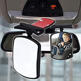 AutoTrends BEIGE Glasses Holder for Car Sun Visor, Universal Car Sunglasses Eyeglasses Case Storage Box Organizer Car Glasses Holder Sun Visor Clip with Ticket Card Holder and Magnetic Function