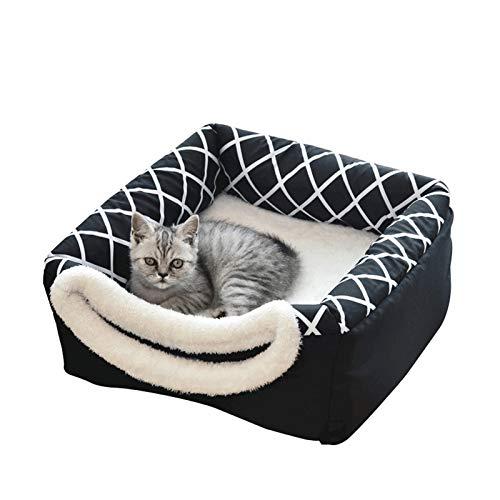 Camas Para Perros Gatos Cama De Felpa Para Mascotas Almohadas Para Perros Sofá Para Perros Cama Para Gatos Cama Cálida Y Suave Para Dormir De Lujo Para Gatos Y Perros Pequeños Mediana Antideslizante