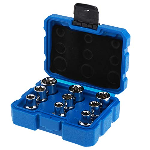Generic Set of 14 Electric Socket Wrenches with Storage Box