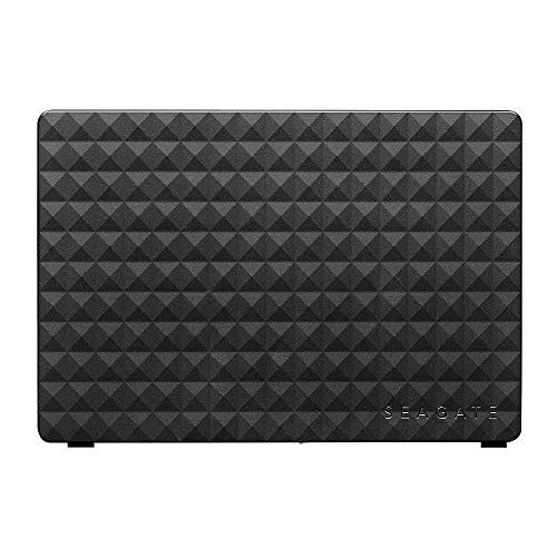 Seagate Expansion Desktop, 16 TB, External Hard Drive HDD - USB 3.0 for PC Laptop and Two-year Rescue Services (STEB16000402), Dark Grey