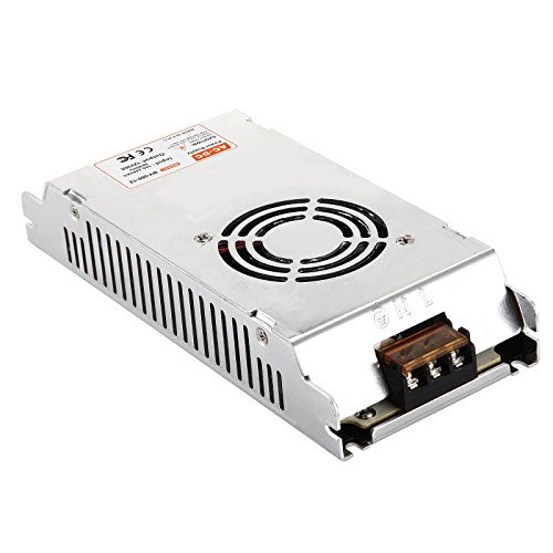 12V Power Supply 30A 360W BVPOW DC Universal Regulated Transformers Adapter Power Converter for LED Strip Light CCTV Camera Radio Computer Project Automation