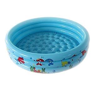 BMBN Piscina Inflable, 1 Juego de Piscina Inflable para bebés y niños Piscina Redonda de Seguridad para niños pequeños, Uso de Verano, Azul