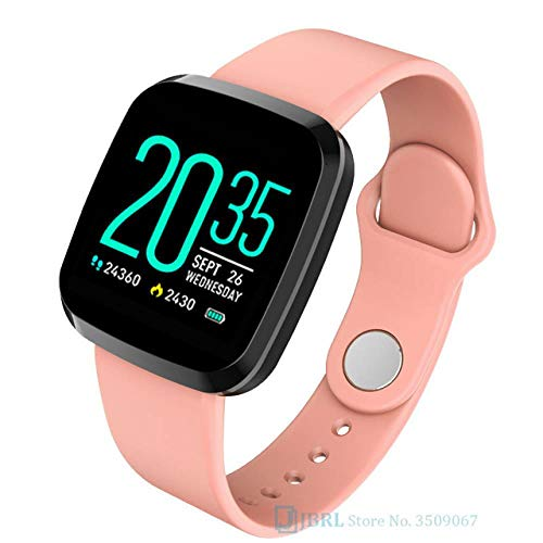 CKBAOL Reloj Inteligente Resistente Al Agua De 1.3 Pulgadas,Adecuado para Android Apple,Reloj Inteligente con Cronómetro,Pulsera Actividad Inteligente para Deporte,Reloj De Fitness con Podómetro