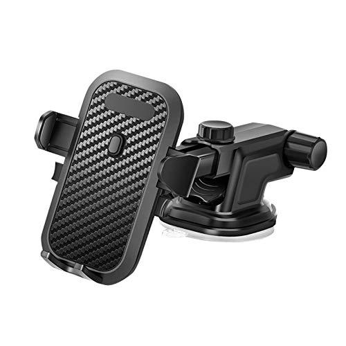 happygirr Soporte para teléfono móvil para la rejilla de ventilación del coche, giratorio 360°, para todos los smartphones