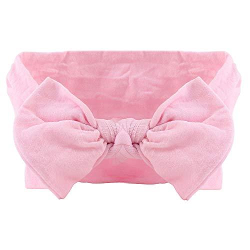 1 ST Baby Hoofdbanden Turban Super Stretchy Knot Nylon Geknoopt Elastische Strikken Haarband Houder 2#
