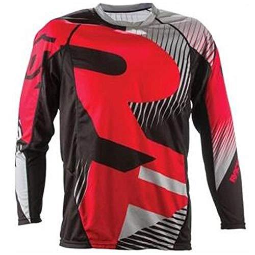 KKQTMY Jerseys de descenso para hombre RACE FACE Camisetas de MTB de bicicleta de montaña Offroad DH Jersey de motocicleta Motocross Ropa deportiva FXR-XXXL