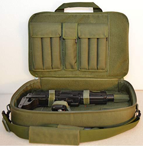 WRB Discreet Sub Gun Case 19.5″ (Black, Mag Pouch-Sig MPX)