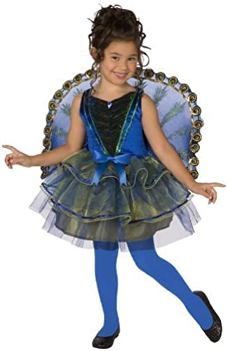 Big Girls' Peacock Costume Medium (8-10) by Unknown