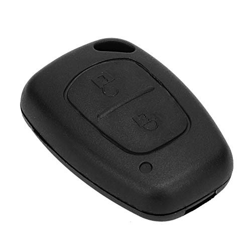Estuche para llave remota, 2 botones, carcasa para llave remota, carcasa de repuesto para Renault Trafic