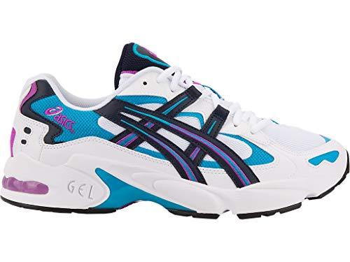 ASICS Tiger Men's Gel-Kayano 5 OG Shoes, 8.5M, White/Midnight