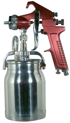 Astro Pneumatic Tool 4008 Spray Gun with Cup - Red...